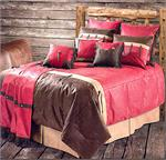 Pueblo Red Southwestern Bedding Set
