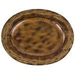 Barbwire Rustic Ranch Oval Tray