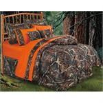 Hunters Camo Comforter Bedding Set Oak