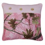Hunters Pink Camo Decorative Pillow