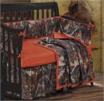 Oak Camo Baby Crib Bedding Set