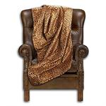 Cowgirl Leopard Throw Blanket