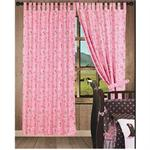 Cowgirl Pink Paisley Curtains (2) Panel Set