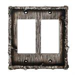 Birch Switchplate Wall Plate Double Rocker