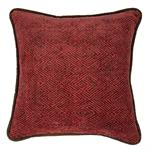 Wilderness Ridge Red Chenille Pillow