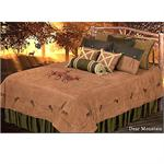 Deer Mountain Cabin Lodge Bedding