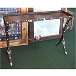 Table Western Belt and Conchos Accent Sofa Table