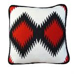 Dakota Knitted Navajo Throw Pillow