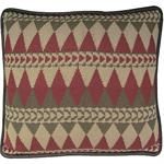 Navajo Knitted Throw Pillow