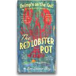 LOBSTER POT Vintage Wood Sign