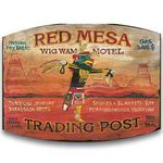 Red Mesa Vintage Western Decor Wood Sign