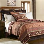 Image Broken Arrow Southwestern Quilt Set
