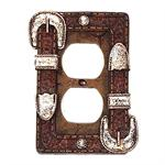 Western Buckle Outlet Cover