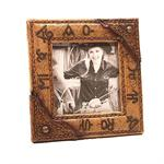 Cattle Ranch Brands Picture Frame 4 x 4