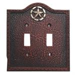 Lone Star Western Decorative Switch Plate Double