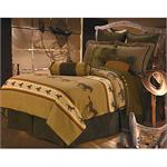 Ocala II Coverlet Western Bedding Set Super King