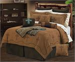 Image of Cowboy Cross and Barbwire Western Bedding Set