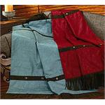 Cheyenne Throw Blanket Red