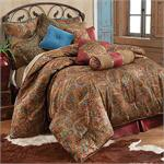 San Angelo Bedding Set (Red) Bedskirt