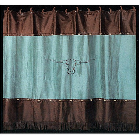 Inspiring Brown And Teal Shower Curtain Gallery Best Image Engine