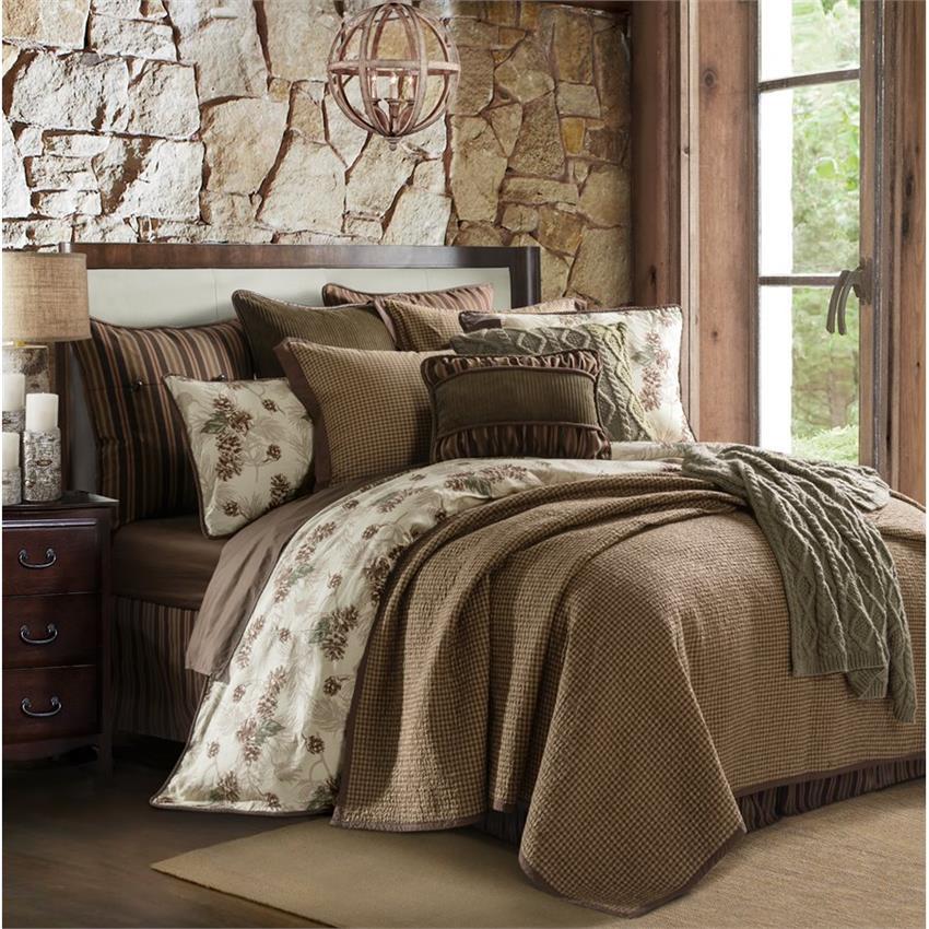 Forest Pine King Size Bedding Set