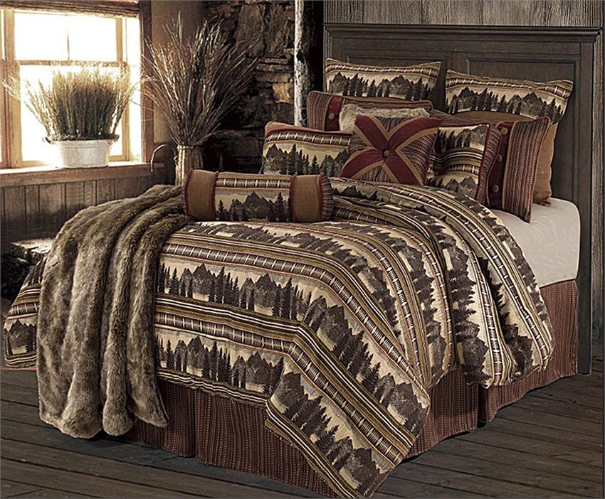 Briarcliff Lodge Cabin Rustic Bedding Set