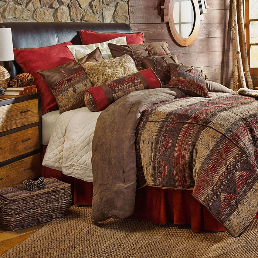 Sierra Southwestern Bedding Set Super King