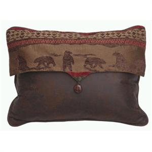 Cascade Bear Envelope Pillow