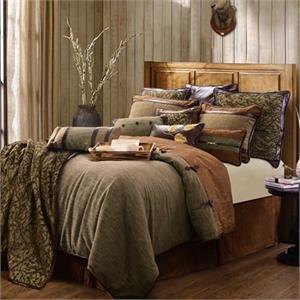 Highland Lodge King Size Bedding Set
