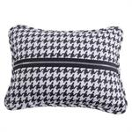 picture of hounds tooth accent pillow