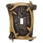 Antler Decorative Switch Wall Plate Single Switch