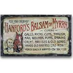 Hanford Vintage Western Decor Wood Sign