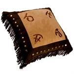 Cattle Ranch Brands Pillow Square