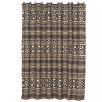 Tucson Luxury Rustic Shower Curtain